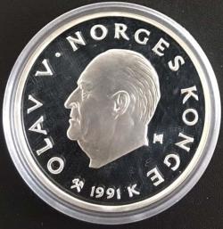 100 Kroner 1991 - 1994 Olympics - Speed Skating