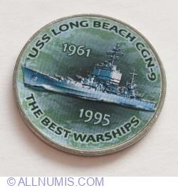 1 Shilling 2017 - USS Long Beach CGN-9