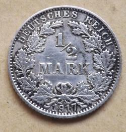 1/2 Mark 1917 E