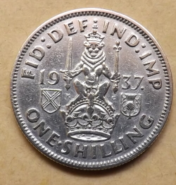 Image #1 of Shilling 1937 (Scottish)