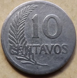 10 Centavos 1921