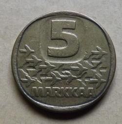 Image #2 of 5 Markkaa 1983 N