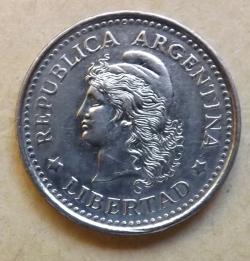 Image #1 of 20 Centavos 1960