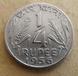 1/4 Rupee 1956