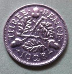 Threepence 1928