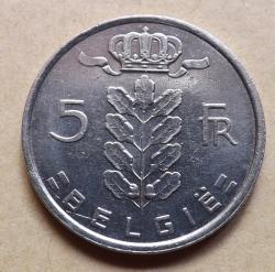 Image #1 of 5 Francs 1981 (Belgie)