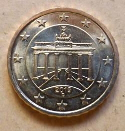 10 Euro Cent 2019 D