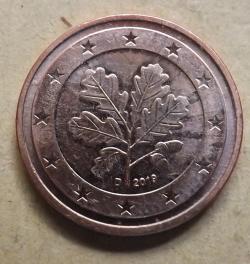 2 Euro Cent 2019 D