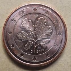 5 Euro Cent 2019 D
