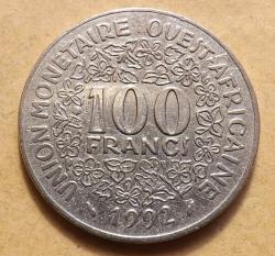 100 Franci 1992