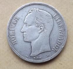 5 Bolivares 1904
