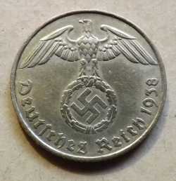 Image #1 of 5 Reichspfennig 1938 E
