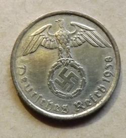 Image #1 of 5 Reichspfennig 1938 G