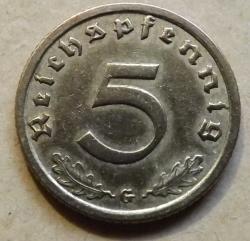 Image #2 of 5 Reichspfennig 1938 G