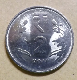 Image #1 of 2 Rupees 2011 (H)