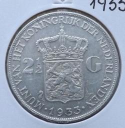 Image #1 of 2  1/2  Gulden  1933
