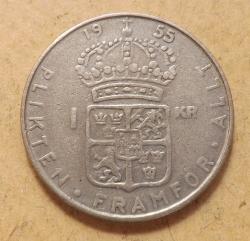 1 Krona 1955