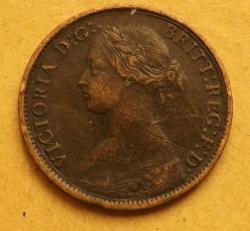 Farthing 1861