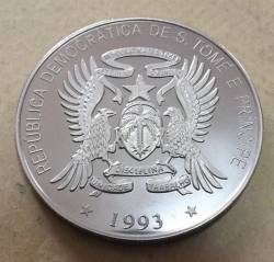 500 Dobras / 1 Ecu 1993