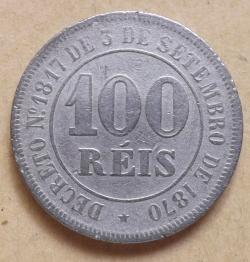 100 Reis 1885