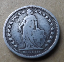1/2 Franc 1898