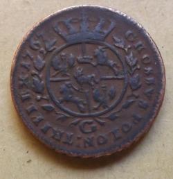 Image #2 of 3 Grosze 1767 (GROSSVS)