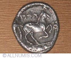 Bronze coin X