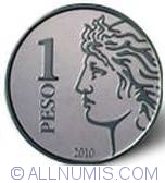 Image #2 of 1 Peso 2010 - 75 anniversary of BCRA