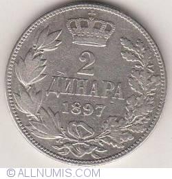 Imaginea #1 a 2 Dinara 1897