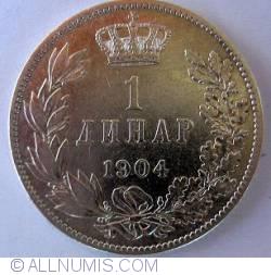 Imaginea #2 a 1 Dinar (ДИНАР) 1904