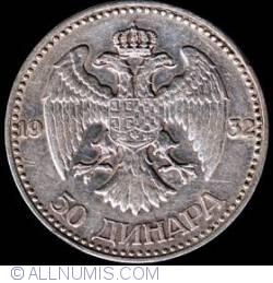 Imaginea #2 a 50 Dinara 1932
