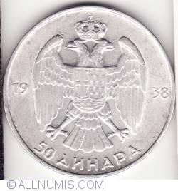 Imaginea #2 a 50 Dinara 1938