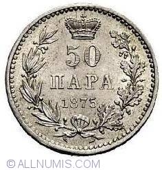 Imaginea #1 a 50 Para 1875