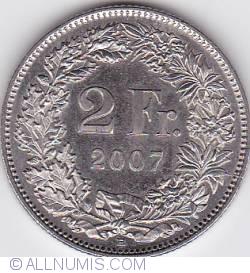 Image #1 of 2 Francs 2007