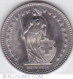 Image #2 of 2 Francs 2007