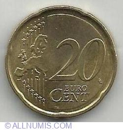 20 Euro Cent 2017 F