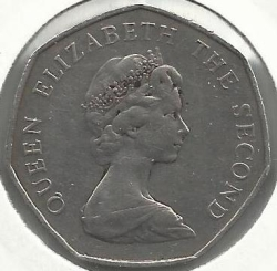 Image #2 of 50 Pence 1983