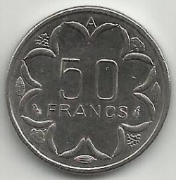 Image #1 of 50 Francs 1985 A - Chad
