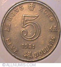 Imaginea #1 a 5 Dolars 1981