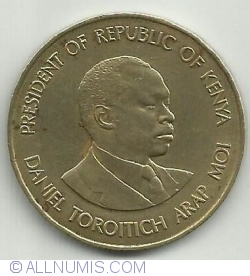 Image #1 of 10 Cents 1989