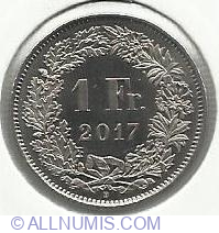 1 Franc 2017