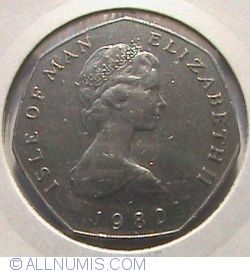 Image #1 of 50 Pence 1980 AA