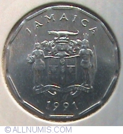 Image #2 of 1 Cent 1991