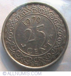 Image #1 of 25 Cents 1979