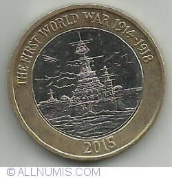 Image #2 of 2 Pounds 2015 - Royal Navy