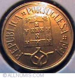 Image #2 of 1 escudo 1991