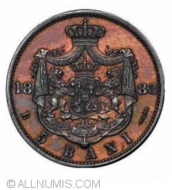 Imaginea #2 a 5 Bani 1883