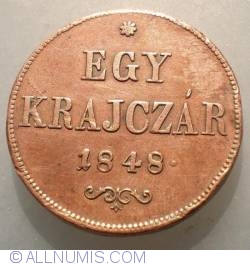 Imaginea #1 a 1 Krajczar 1848