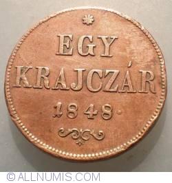 Image #1 of 1 Krajczar 1848