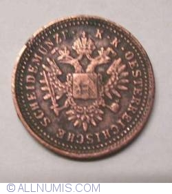 Imaginea #1 a 1 Kreuzer 1851 B
